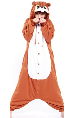squirrel onesie cute