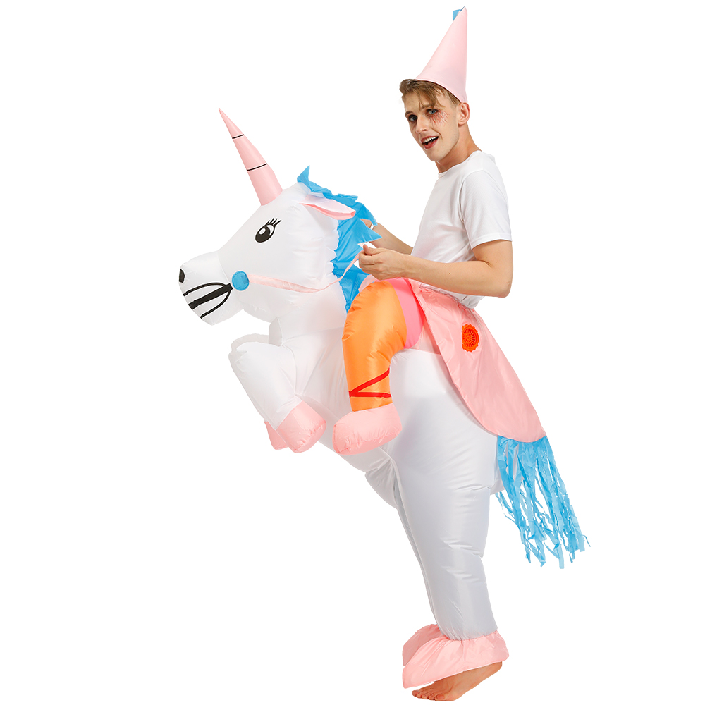 Unicorn Ride On Inflatable Costume - Free Shipping - Fast Delivery