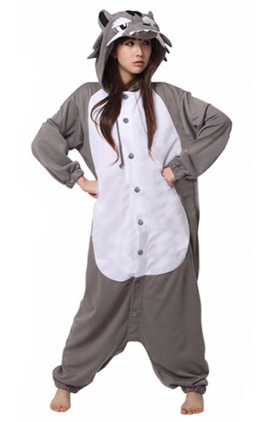 Grey Wolf Onesie Onesies Australia Free Shipping Fast Delivery