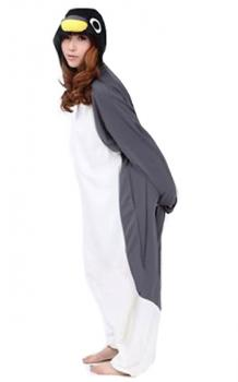 Grey Penguin Onesie