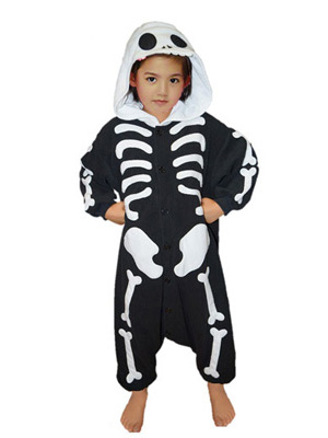 skeleton kid onesie 1