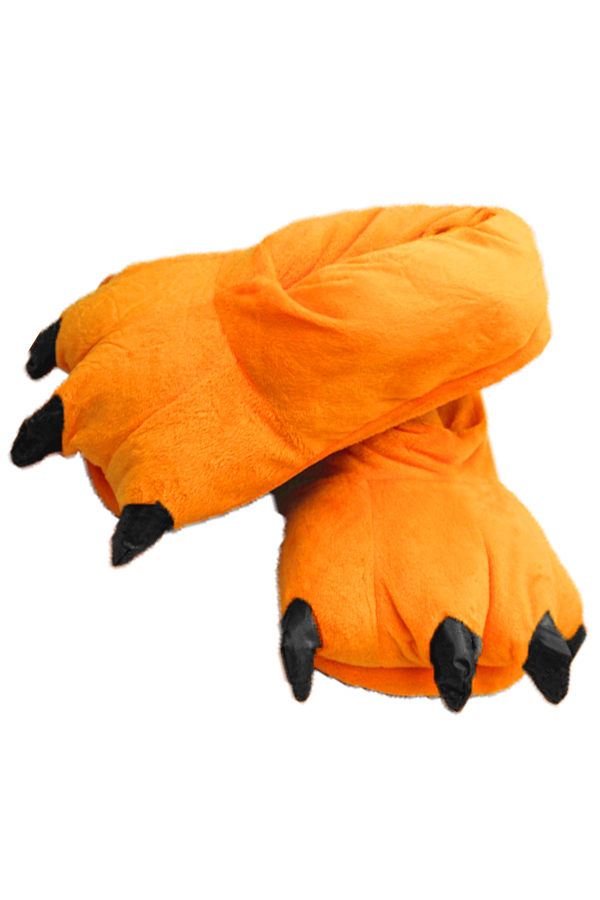 Orange Animal Claws Slipper